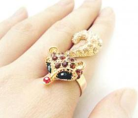 Fox Ring (3 Colors!)
