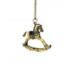 Retro Bronze Trojan Necklace