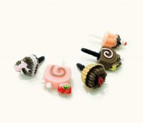 Chocolates and Desserts 3.5mm Dust Plugs (Set of 5)