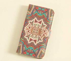 Psychedelic Aztec Pattern iPhone 5 Cover