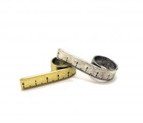 Retro Ruler Ring
