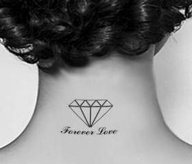 Forever Love Tattoo Stickers (Set of 7)