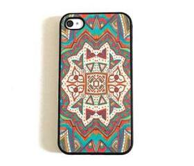 Psychedelic Aztec Pattern iPhone 4/4s or 5 Case