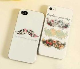 'My Moustache is Vintage' iPhone 4/4s or 5 Case