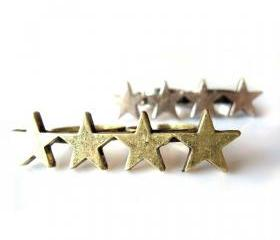 Double Finger Stars Ring