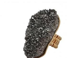 Metallic Rock Ring