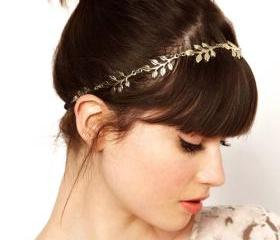 Retro Leaves Hair Band (2 Colors!)