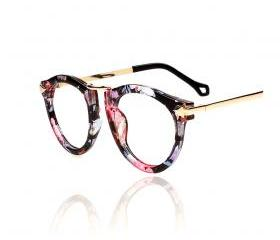 Retro Floral Pattern Sunglasses